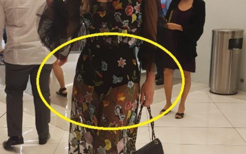 Luz García «mató» con su vestido en la premier de «Reinbou»