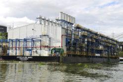 Barcaza eléctrica no puede continuar operando en el río Ozama