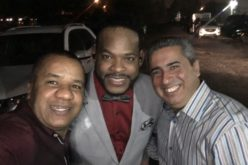 Vidal Cedeño, Yiyo Sarante y Henry Roedán, tres panas de cristalycolores.net… Saluuudos…!