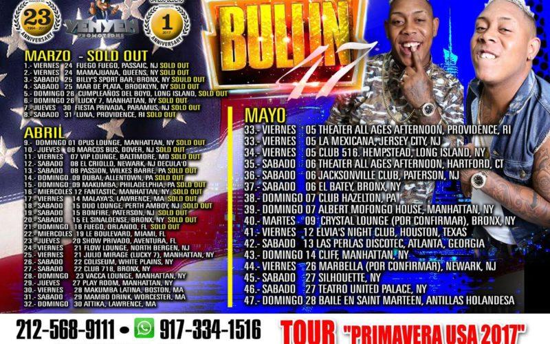 """Bulin, """"El Hijo de Capotillo"""", de 47-47, arrasando en su primer Tour USA Primavera 2017"""