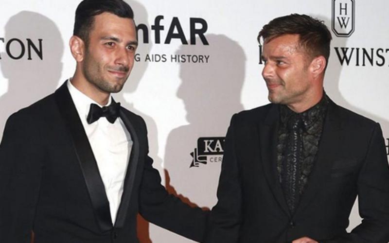 Ricky Martin quiere casarse tres veces en lugares diferentes con su nuevo prometido