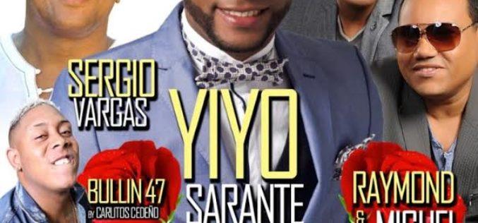 """Yiyo Sarante, Raymond y Miguel, Sergio y Bulin 47 celebrarán los 23 años de Vidal Cedeño en el """"show-business"""" de Nueva York"""