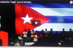 (Video) Chequeen a la cubanita «regá» con el timbal…! Qué descarga…!!