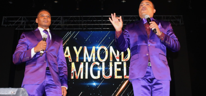 Raymond y Miguel preparan show para Hard Rock Santo Domingo… (Van tan «moraditos» como en la foto…?)…