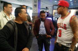 (Video) Bulin 47 sobre él: «Al loco lo apoyan en Nueva York»; se «junta» con Raymond y Miguel y van al aniversario de Vidal Cedeño