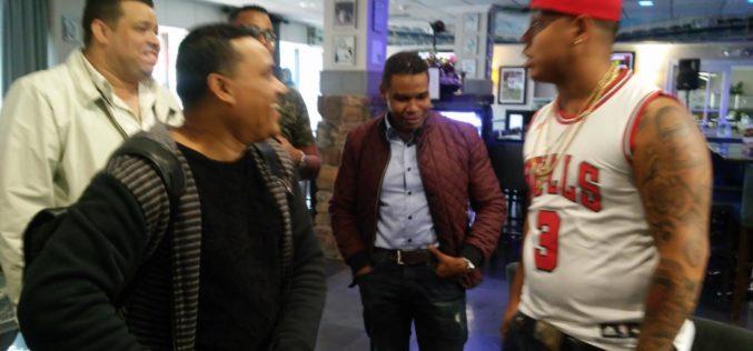 """(Video) Bulin 47 sobre él: """"Al loco lo apoyan en Nueva York""""; se """"junta"""" con Raymond y Miguel y van al aniversario de Vidal Cedeño"""