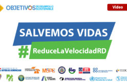 """""""Salvemos vidas, #ReduceLaVelocidad"""", campaña de la  Organización Mundial de la Salud, ya está en RD"""
