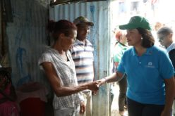 Vice Margarita Cedeño visita familias afectadas por lluvias en San Cristóbal; verifica labores asistencia oficial