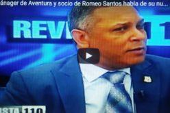 (Video) Franklin Romero, quien fuera propietario del grupo Aventura y socio de Romeo Santos, habla de su nuevo rol de diputado