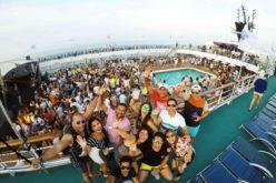 Barceló Desalia celebró su décimo aniversario con más de mil personas en un crucero que anduvo por Málaga, Ibiza y Mallorca