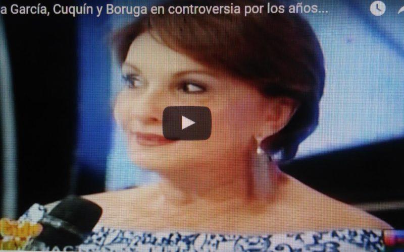 (Video) Cecilia, Boruga y Cuquín en «tiradera de puyas» por los años en Divertido con Jochy…