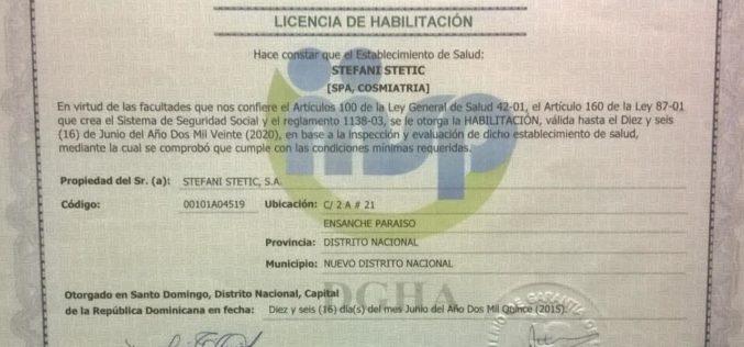 Centro de salud Stefani Stetic aclara su cierre es provisional; sostiene tiene licencia habilitada hasta el 2020