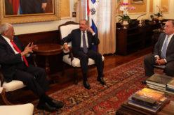 """Negro Veras, ilustre jurista de Santiago: """"Vine a hacerle una visita al presidente Danilo Medina. Mantengo con él fraternas relaciones"""""""