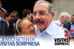 (Video) El Gobierno celebra la Visita Sorpresa #170 del presidente Danilo Medina