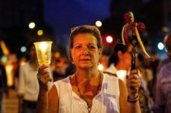 En Venezuela, la «Marcha de las luces por los caídos»…