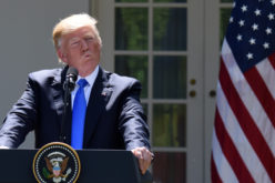 Donald Trump en rueda de prensa diciendo que el ex director del FBI mintió en audiencia del Senado EE.UU.