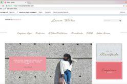 La periodista Airam Toribio anuncia el lanzamiento de su página web