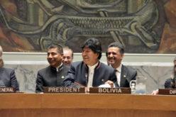 Evo Morales advierte en la ONU que crisis por el agua pone en riesgo la paz mundial