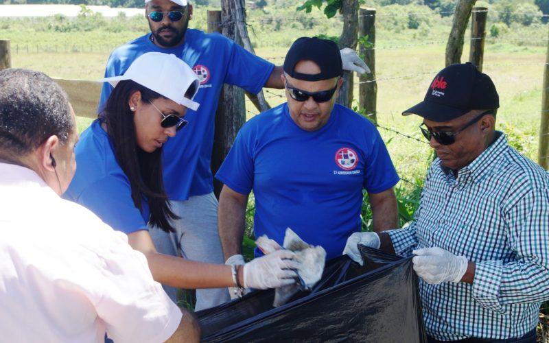 Jornada de limpieza en Jarabacoa
