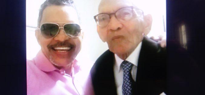 La impactante foto de Rafa Rosario con don Ramón, su papá, y su lindo y emotivo mensaje…