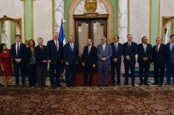 Presidente Medina recibe en Palacio a congresistas de EEUU, incluido el dominicano Adriano Espaillat