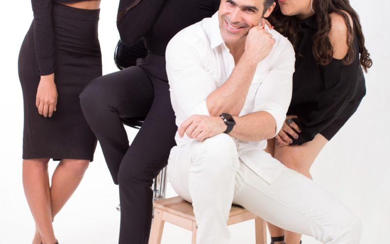 """""""Tres"""", sensacional comedia con Hony Estrella, Evelyna Rodríguez, José Guillermo Cortines y Laura Leclerc, a Bellas Artes"""