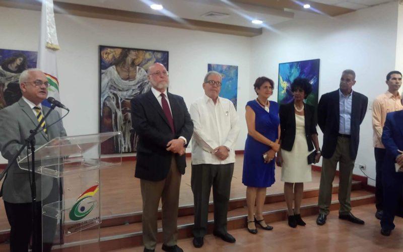 El ministerio de Cultura relanza la Sala de Arte Ramón Oviedo con muestra de Elsa Núñez y otros artistas
