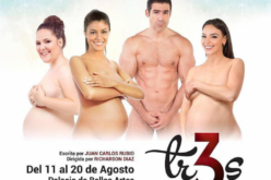 La comedia «Tres», con Hony Estrella, Joseguillermo, Evelyna Rodríguez y Laura Leclerc se estrena hoy viernes en Bellas Artes