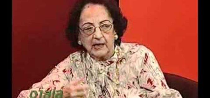 Fallece Mercedes Sabater de Macarulla, miembro del Comité Central del PLD