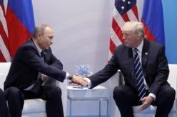 El saludo de manos de Vladimir Putin y Donald Trump en la Cumbre G20 de Hamburgo