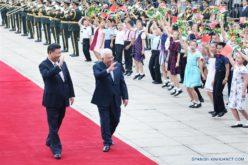 Xi Jinping dice en lo concerniente a la cuestión palestina China apoya la fórmula de dos Estados