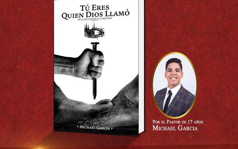 Un pastor de 17 años de edad presentará su primer libro: «Tú eres quien Dios llamó…»