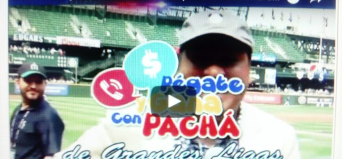 Albert Pujols, Alfredo Griffin y Yadier Molina con El Pachá y Héctor Gómez