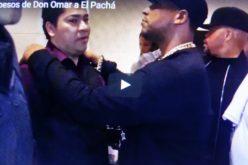 (Video) Don Omar se come a besos a El Pachá y le da los mejores consejos