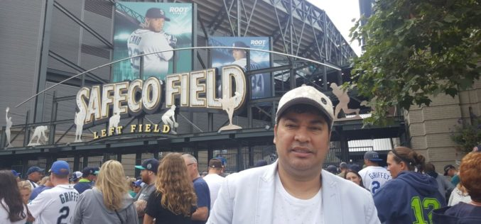 (Video) El Pachá con Nelson Cruz, Jean Segura y Robinson Canó desde el Safeco Field de Seattle