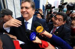 El ex presidente peruano Alan García en interrogatorio de fiscales por el Metro de Lima y Odebrecht