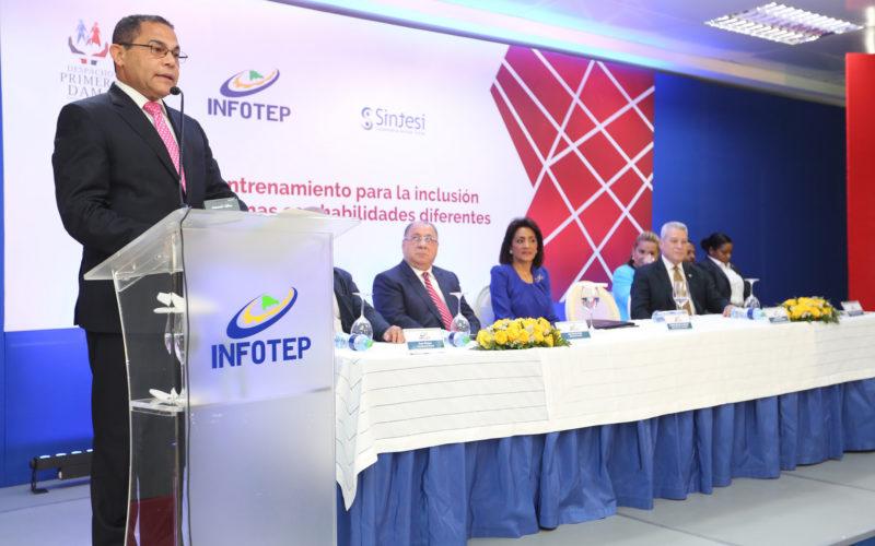 Despacho de Primera Dama e Infotep crean un plan de inclusión laboral