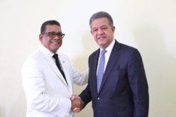 Leonel «se gozó» la juramentación de Rubén Maldonado como presidente de la Cámara de Diputados