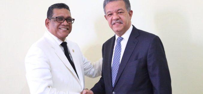 "Leonel ""se gozó"" la juramentación de Rubén Maldonado como presidente de la Cámara de Diputados"