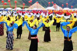 La Danza de Guozhuang, en el noroeste de China…