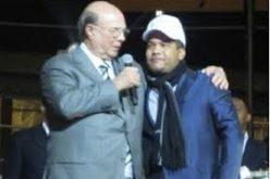 Hipólito Mejía graba video promoviendo concierto de El Torito en el Carnegie Hall