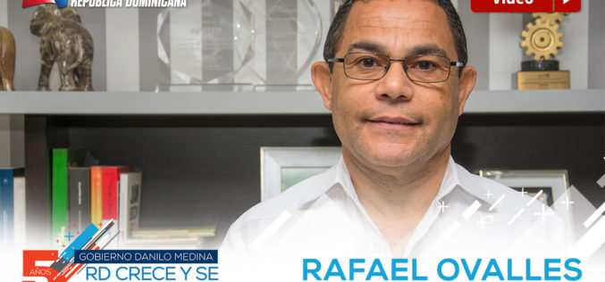 (Video) Rafael Ovalles al frente de Infotep…