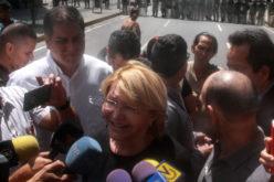 La fiscal removida de Venezuela…