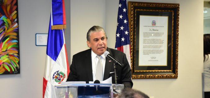 Un año de gestión de Carlos Castillo al frente del consulado Dominicano en Nueva York