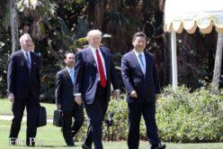 El diálogo teletefónico entre los presidentes Xi Jinping de China y Donald Trump de EEUU sobere situación de Corea