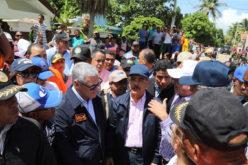 Por huracán María, Danilo recorre Palo Verde,Castañuelas y Guayubín,en Montecristi; Arenoso y Contreras en Bajo Yuna
