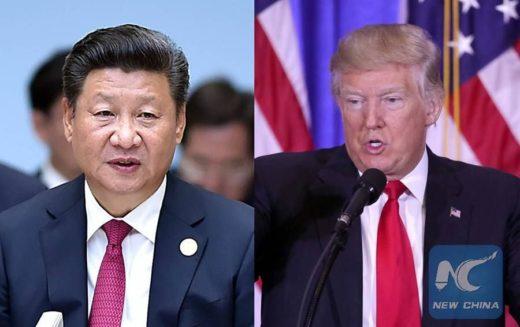 Donald Trump tiene en agenda visita a China; conversa con su homólogo Xi Jinping por teléfono al respecto, y sobre Corea del Norte
