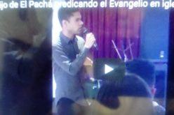 (Video) El hijo El Pachá, Igor Federico, predicando el Evangelio en una iglesia del Alto Manhattan