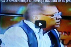 (Video) La Tora le ofrece trabajo en su programa a Domingo Bautista para que retorne a la tv