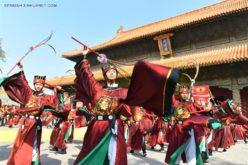 China celebrando el 2,568 aniversario del nacimiento de Confucio, el gran filósofo